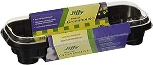 Jiffy 5710 12-Pellet Indoor Plant Start Greenhouse