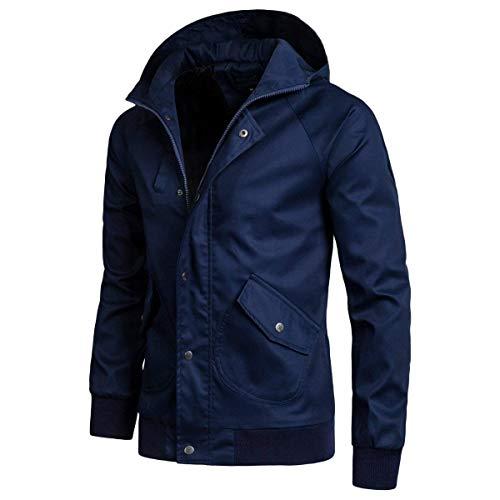Blau Fashion Comode Cappotto Cappuccio Con Impermeabile Taglie Uomo Abiti Hx Da Antivento Casual Sportivo OSqdSwRg