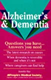 Alzheimer's and Dementia, Jennifer Hay, 1882606574