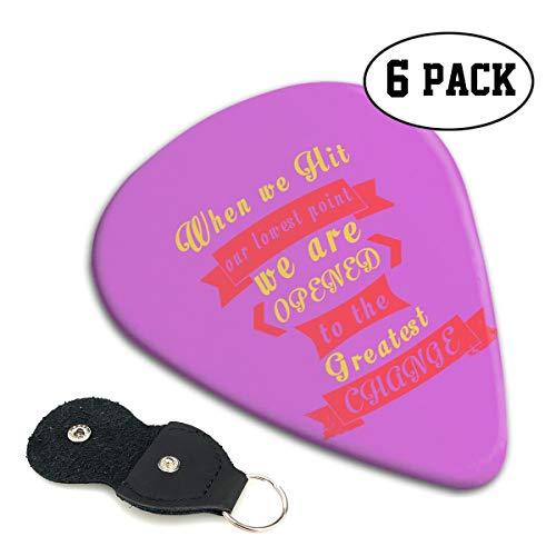 MKJIH Avatar-Legend-of-The-Korra-6 Pack Pick Sampler Classic 351 Shape Guitar Picks for Guitar Bass]()