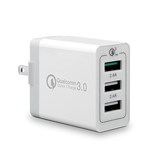 Quick Charge 3.0 USB Fast Wall Charger, 30W 3 Ports for sale  Delivered anywhere in Canada