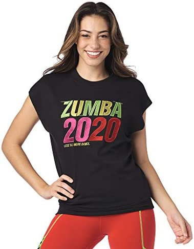ZUMBA SEXY ACTIVE WEAR DANCE TOPS WORKOUT OPEN BACK SHIRTS FOR WOMEN