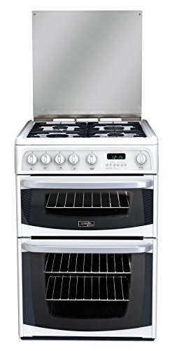 Hotpoint Cannon Carrick CH60GCIW Gas Cooker 60cm Freestanding White