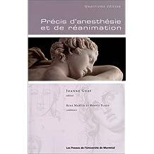 PRÉCIS D'ANESTHÉSIE ET DE RÉANIMATION (4E ED.)