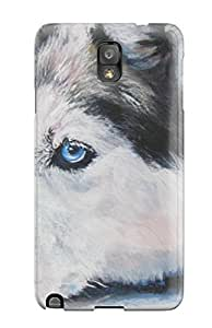Pretty JlvxcUP3515Ngbpe Galaxy Note 3 Case Cover/ Siberian Husky Dog Series High Quality Case