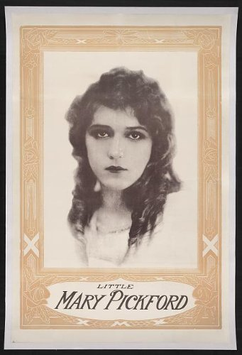 Infinite Photographs Photo: Little Mary Pickford,Actress,Decorative Frame,Hennegan Co,Cincinnati,Ohio,1914