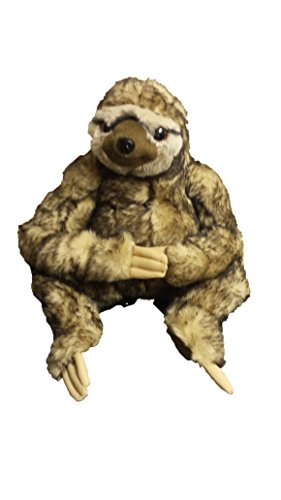 Sloth Sitting Plush 25Cm (Cream) -
