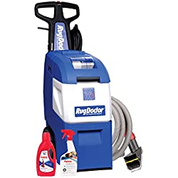 Rug Doctor Mighty Pro X3 Family Pack; Deep Carpet Cleaning Machine with Upholstery Tool and Carpet Cleaning Solutions Included; Neutralizes Odors and Removes Tough Stains, Dirt, Germs and Odors