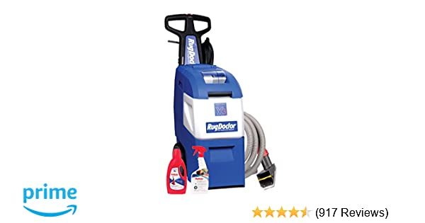 Rug Doctor Might Pro X3 Family Pack Vacuum Large Blue