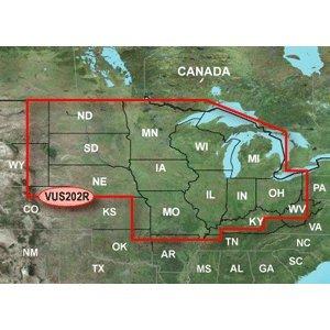 Garmin Inland Lakes Vision North Central microSD/SD (Inland Card)