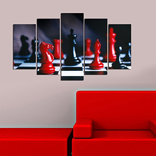 LaModaHome Decorative 100% MDF Wall Art 5 Panels (43