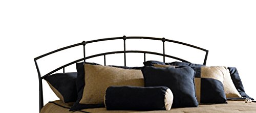 Hillsdale Furniture 1024-490 Hillsdale Vancouver Without Bed Frame Full/Queen Headboard, Antique Dark Brown