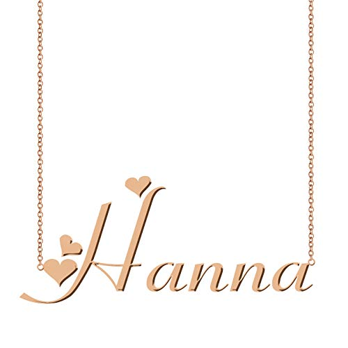 ZAloha Personalized Custom Name Necklace Hanna