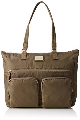 Bogner Shopping, Borse a Tracolla Donna Verde (Fango)
