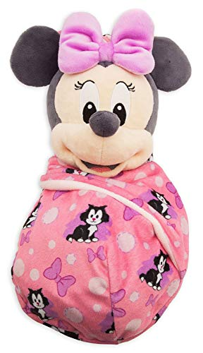 Disney Parks Baby Minnie Mouse in a Pouch Blanket Plush Doll