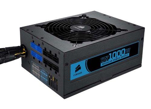 Corsair Professional Series™ HX1000 80 Plus Certified Modular Power Supply (CMPSU-1000HX)