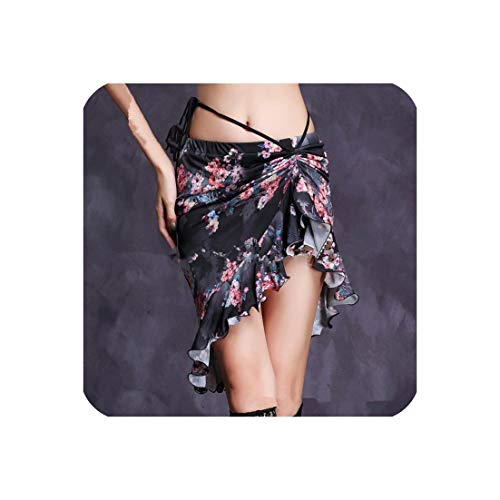 Women Skirts Professional Wrapped Spandex Belly Dance Short