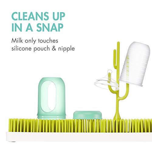 41CW6rAPlcL - Boon NURSH Reusable Silicone Pouch Bottles, 8 Ounce (Pack Of 3)