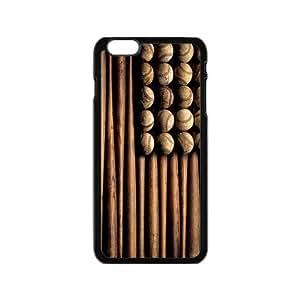 """Custom Baseball Design Plastic Case for iPhone6 4.7"""""""