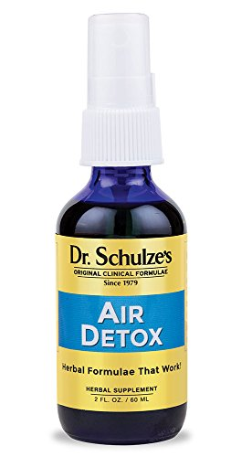 Dr. Schulze's | Air Detox | Stimulating Aroma That Disinfects & Purifies | Essential Oil Spray | Destroys Airborne Bacteria | Great for Home, Car, Office, Travel | Improve & Lift Spirit | 2 oz Bottl