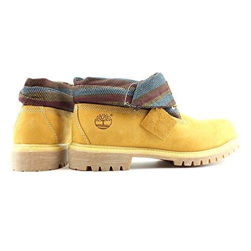 Timberland Roll Top Boots - 6456A - Farbe: Honigfarbig-Beige-Braun - Größe: 50.0