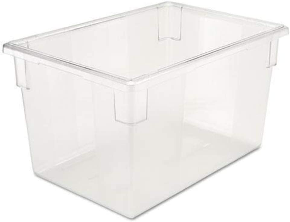 RCP3301CLE - Rubbermaid-Clear Food Boxes; 21 1/2 Gallon 18 X 26 Food Box