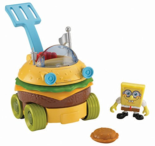 Fisher-Price Imaginext SpongeBob SquarePants Krabby Patty Wagon