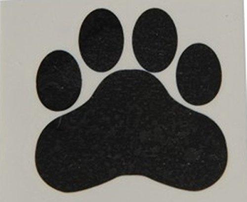 Black Paw Print Temporary Tattoos (144) (Temporary Tattoos Mascots)