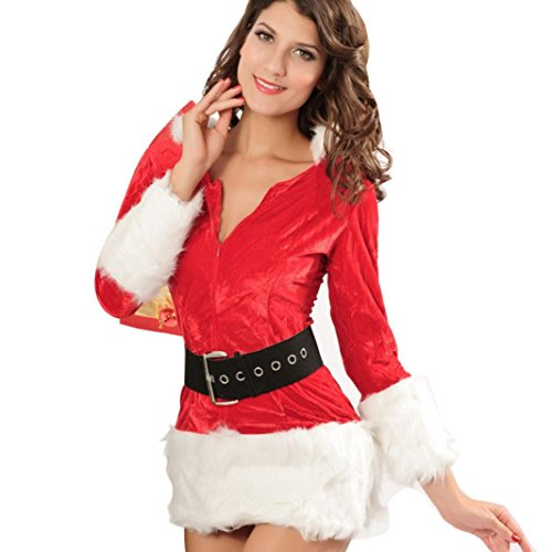 AMA(T (Naughty Santa Girl Costume)