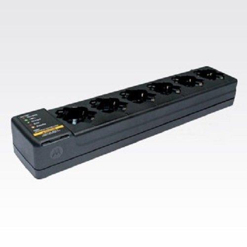 PMLN7101A PMLN7101 - Motorola Six-Pocket Multi-Unit Charger, US Plug