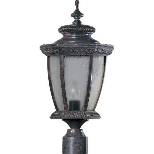 - Quorum International Q7806 Baltic 1 Light Outdoor Post Light, Baltic Granite