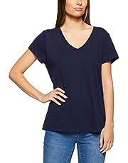 Jag Women's Basic V Neck T Shirt