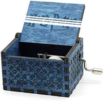 VDV Caja de música – Caja de Madera de Juego de Tronos Regalo para Navidad Feliz cumpleaños Año Nuevo Regalo para niños: Amazon.es: Hogar