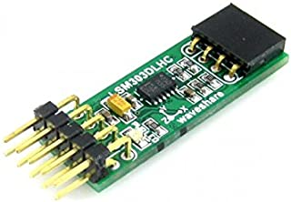 High Performance e-compass,3D Accelerometer and 3D Magnetometer Module,I2C Interface,LSM303DLHC on Board