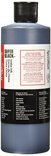 Speedball Super Black India Ink, 1 Pint by Speedball (Image #2)