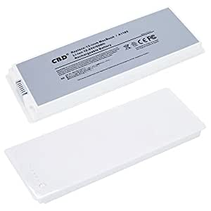 """5400mAh,10.80V,Li-Polymer,Replacement Laptop Battery for APPLE MacBook 13"""" Series, (Fits selected models only),"""