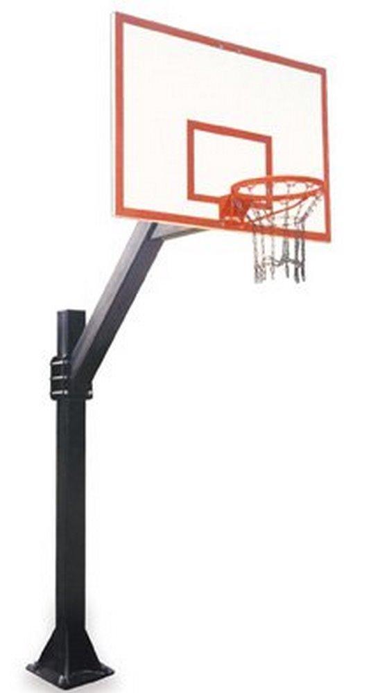 最初チームLegend dynasty-bp steel-fiberglass in ground固定高さバスケットボールsystem44 ;砂漠ゴールド B01HC0BUZE