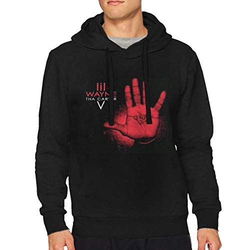 Men Loose Hooded Comfortable Sweater Casual Classic Sweatshirt