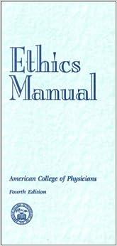 Book Ethics Manual