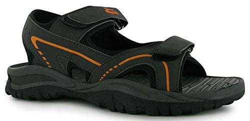 Slazenger , Herren Sandalen One Size, schwarz - anthrazit - Größe: One Size