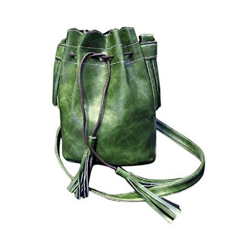 Manila Job Jackets (Women Bag, Gillberry New Handbag Shoulder Tassel Messenger Bag Purse Satchel)