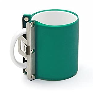 WER 3D Mug Transfer Sublimation Silicone Mug Wrap Mug Mold 11OZ Cup Clamp Fixture for Printing Mugs by WER