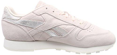 Bs9865 Reebok Donna Da pale Scarpe matte Rosa Silver Pink chalk Ginnastica Basse OpxOgrq