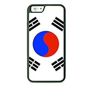 Case Fun Case Fun Flag of South Korea TPU Rubber Back Case Cover for Apple iPhone 6 4.7 inch