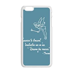 GKCB Peter Pan's Character Tinkerbell Phone Case for Iphone 6 Plus