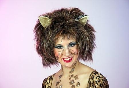 Mietzekatze Leopard Tiger Kostum Fasching Katzenkostum