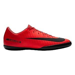 NIKE Men's Mercurial Victory VI IC Indoor Soccer Shoes (8 D(M) US, University Red/Black)