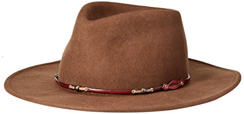 Sheepskin Hat Wool - Stetson Men's Wildwood Crushable Hat, Acorn - Large