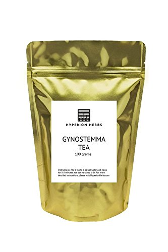 Gynostemma Tea 100% - Hyperion Herbs - Profoundly Balancing Yet Gentle - 100g