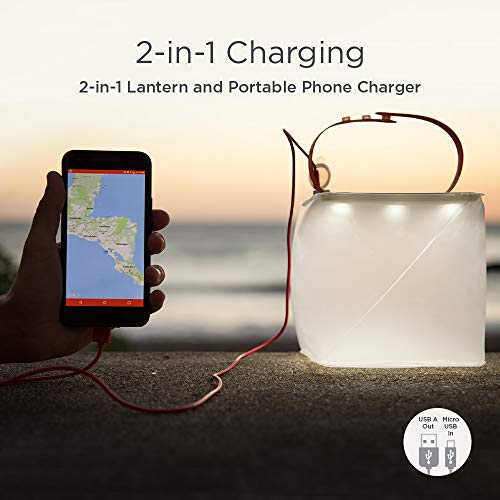 Take 15% off a 2-in-1 camping lantern and phone charge